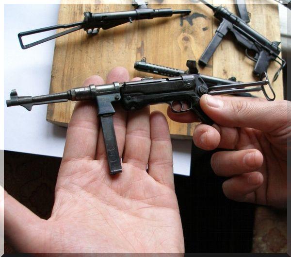 модельки оружия своими руками