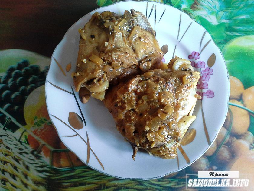 бедрышки под сливочно-ореховым соусом своими руками