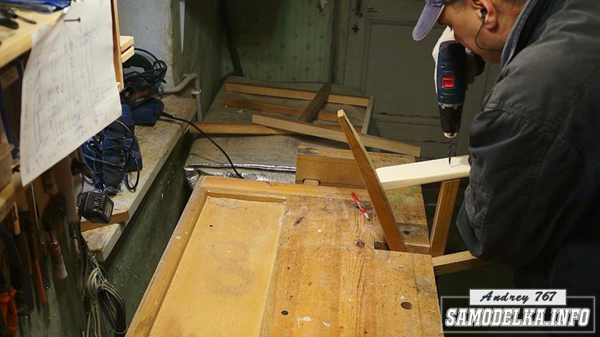 изготовление самодельной мебели