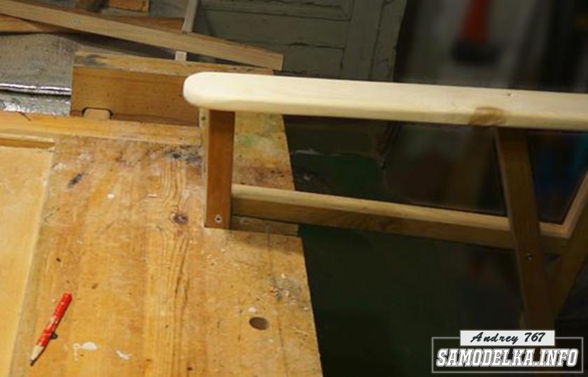 элемент деревянного стула