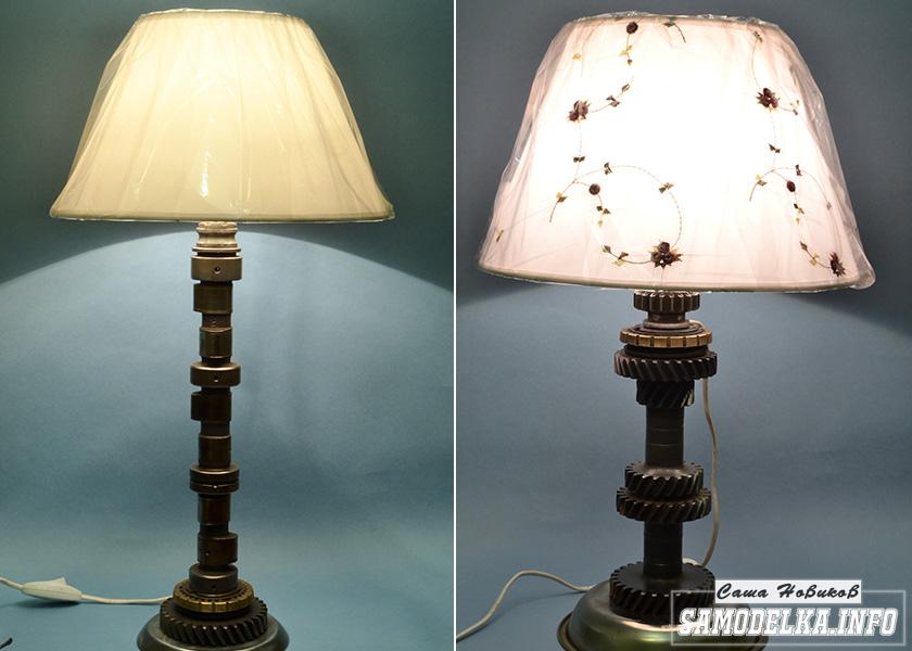 Самодельные дизайнерские светильники в стиле стимпанк
