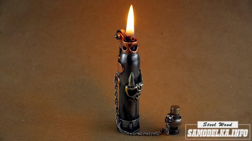 Бензиновая зажигалка своими руками