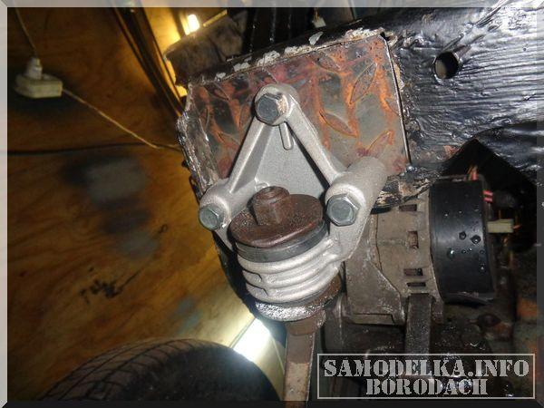 Замена крепления краба для ВАЗ 2108-99