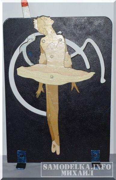 балерина на шарнирах