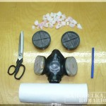 Самодельный респиратор от пыли и химический респиратор в одном