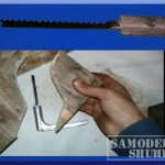 Самодельный мини лобзик из дверной ручки