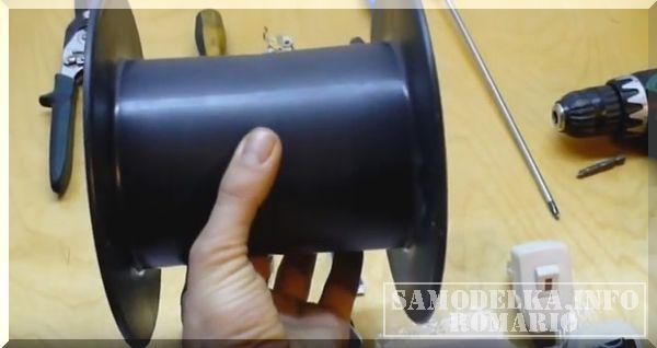 удлинитель электрический на катушке своими руками