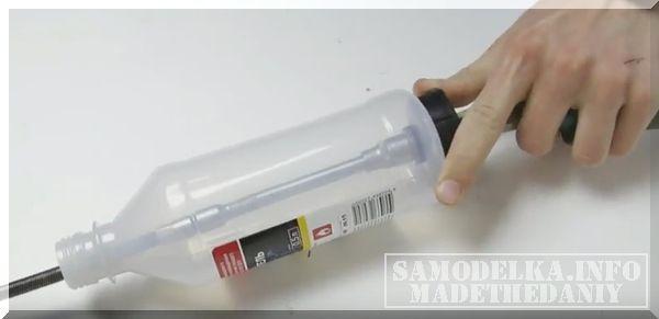 самодельное устройство для прокачки тормозов