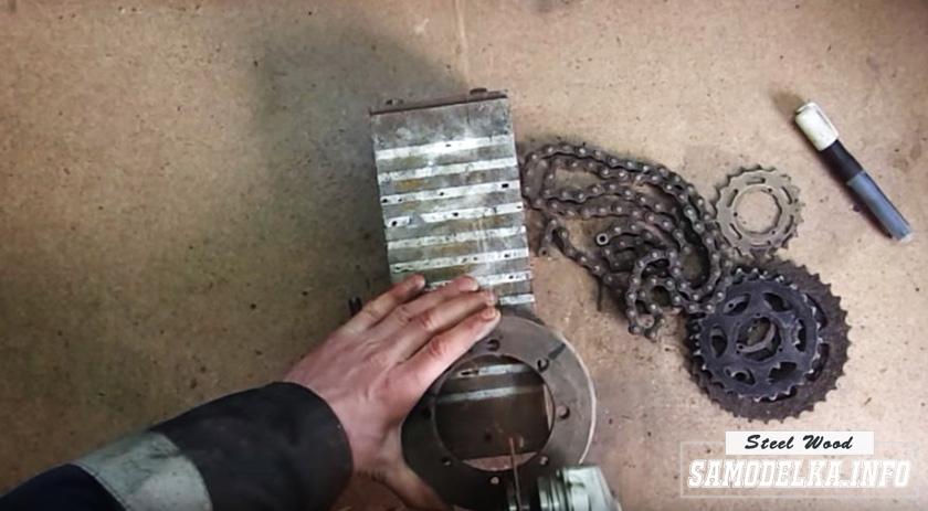 """шестерня из заднего моста мотоцикла """"Урал"""""""