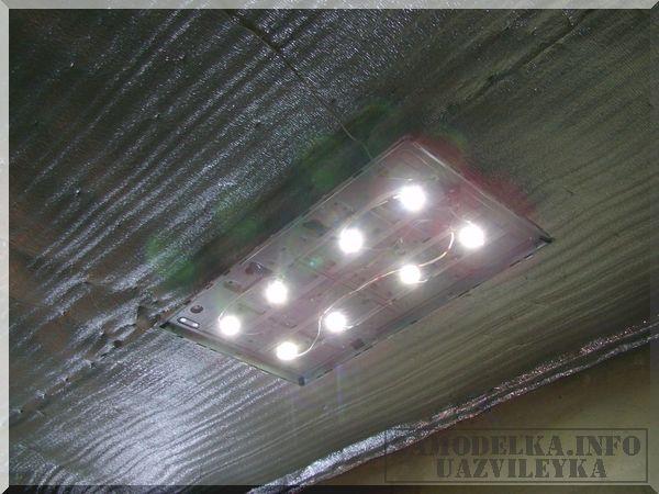 светодиодная лампа из ЖК телевизора