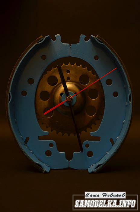 Часы из тормозных колодок своими руками