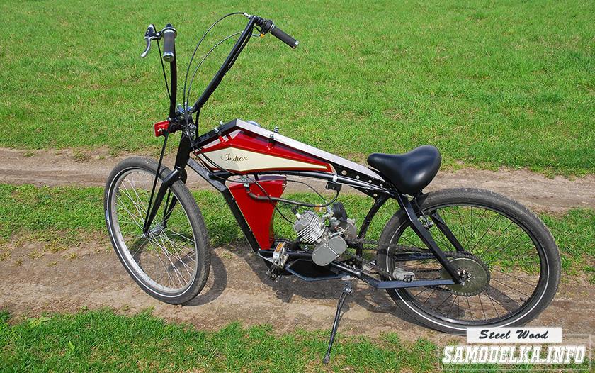 Велосипед с мотором своими руками