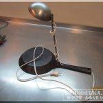 Сделай сам: ночник из сковороды и черпака своими руками