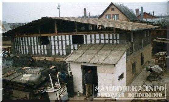 Экономичный теплый дом своими руками