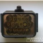 Самодельный фонарь на Li-on аккумуляторе с зарядкой от Nokia или USB