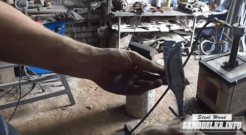 изготовление ножа своими руками