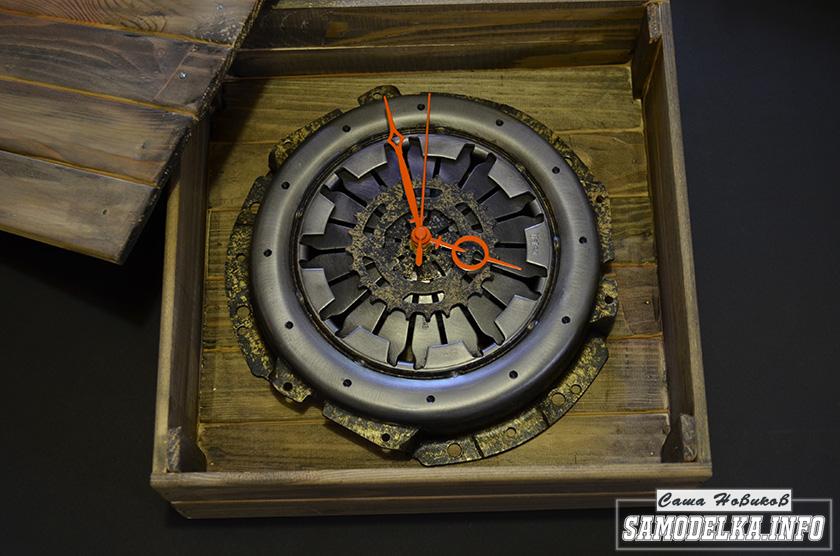 Часы настенные корзина сцепления