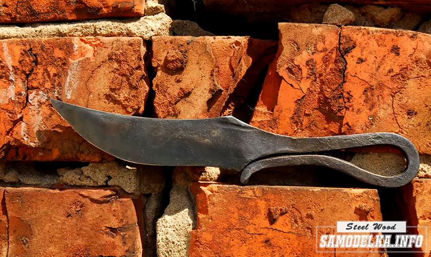 Нож из обоймы подшипника своими руками