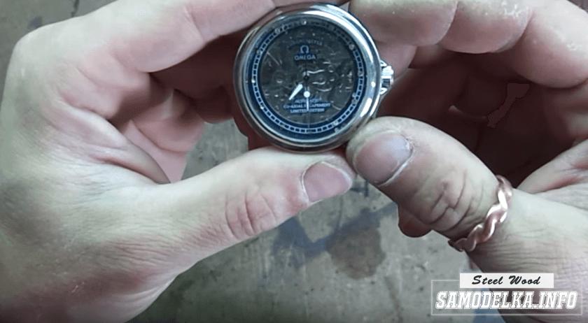 Эксклюзивные наручные часы своими руками