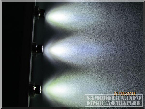 Светодиодный светильник для рабочего места кухни, гаража или подсветки цветов.