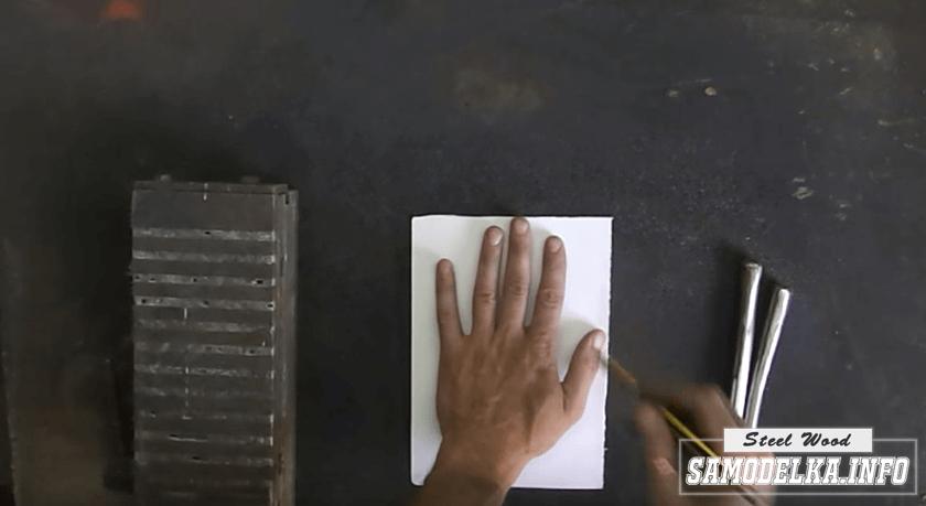 """Лампа """"железная рука"""" своими руками"""