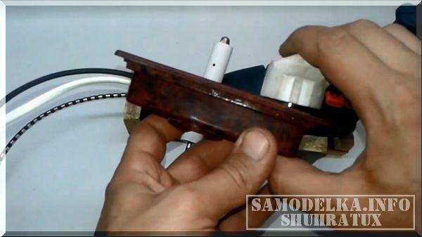 Насадка - бор машина для шуруповерта своими руками