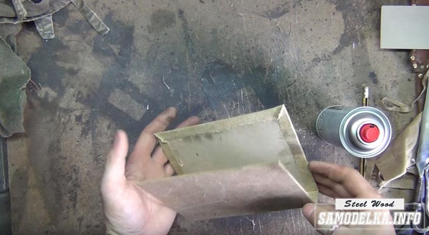 Блокнот Метро 2033 своими руками