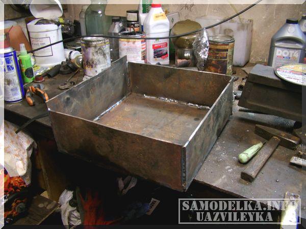 Сделай сам: печка на отработанном масле