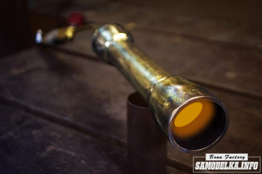 Самодельная инжекционная газовая горелка