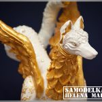 Скульптура славянского божества из полимерной глины мастер класс