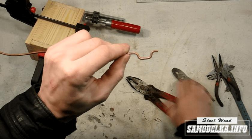 ручка для сундучка своими руками