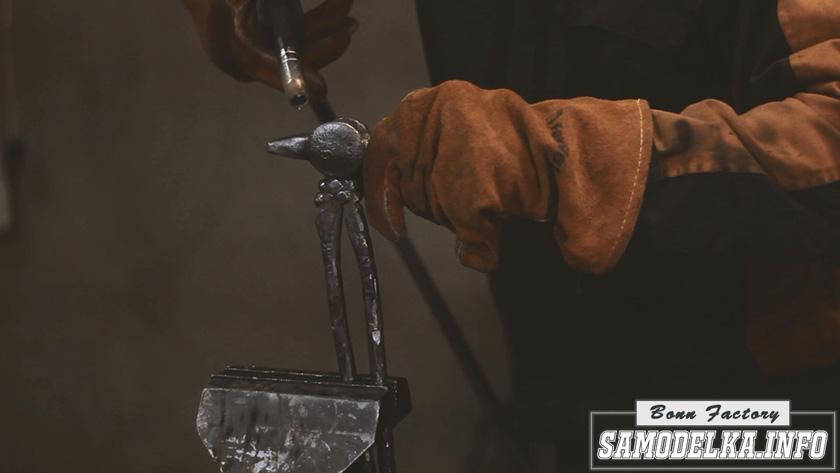 изготовление рукоятки молотка