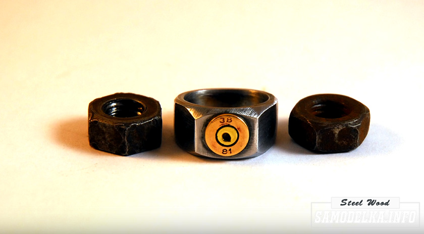 Кольцо из гайки своими руками