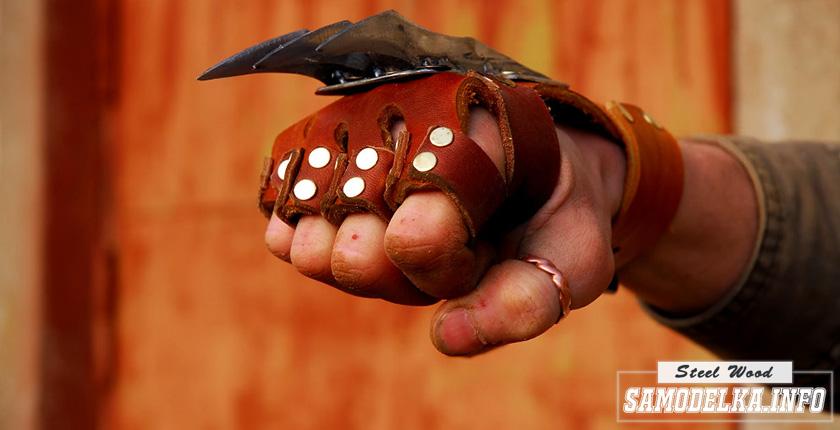 Перчатки с когтями своими руками