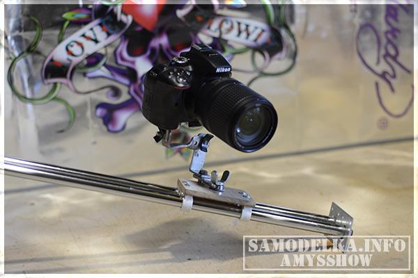 слайдер для камеры своими руками