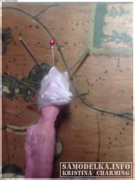 процесс создания куклы Тильды