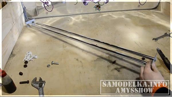 трубы для слайдера камеры