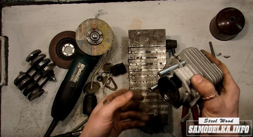цилиндр от бензопилы