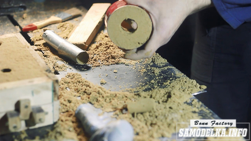 литье в песок