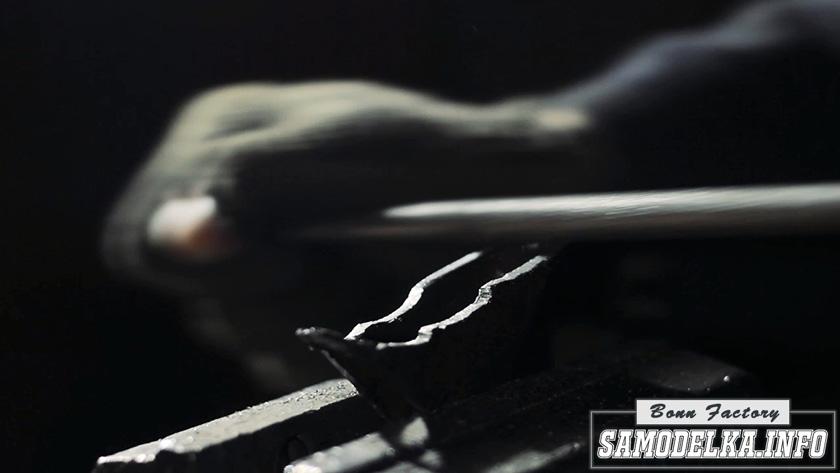 процесс изготовления топора своими руками