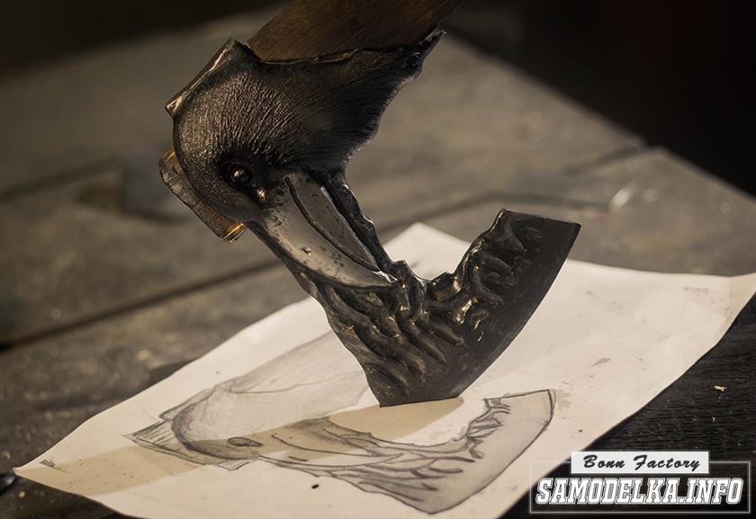 топор ворон своими руками