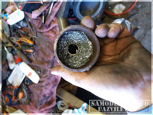 Маслоуловитель для вентиляции картерных газов
