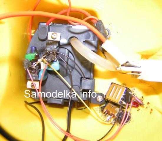 Самодельное зарядное устройство для зарядки usb приборов