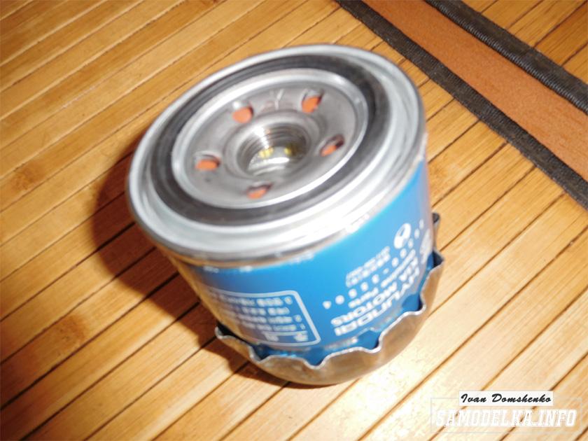 Самодельный съемник масляного фильтра для Hyundai Solaris