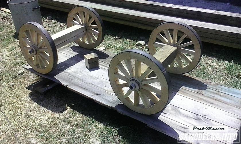 колеса для телеги