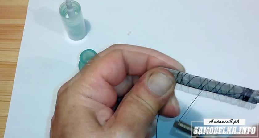 процесс изготовления дозатора