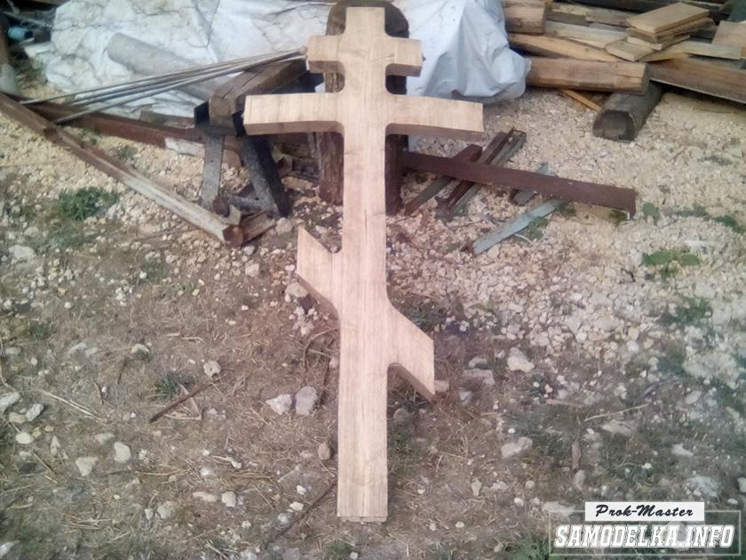 Восьмипалый крест своими руками