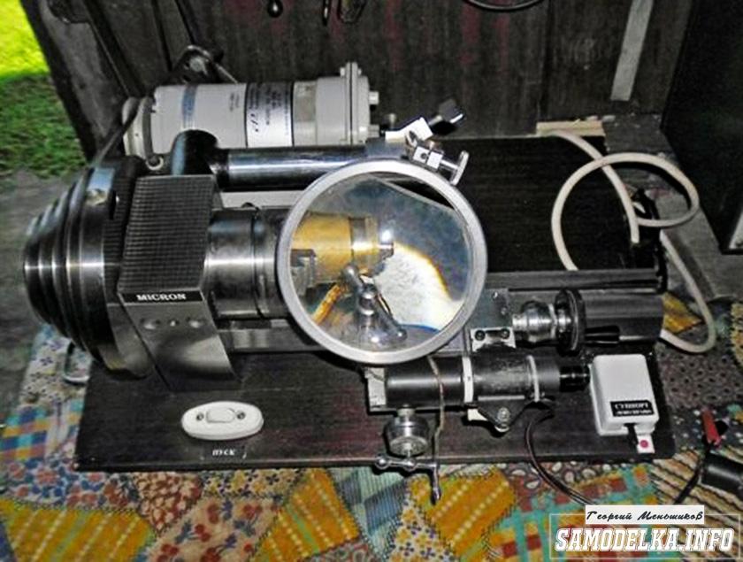 Самодельный токарный станок Микрон