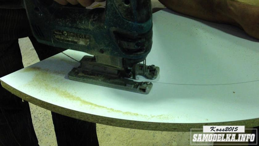 процесс изготовления пуфика к изголовью кровати