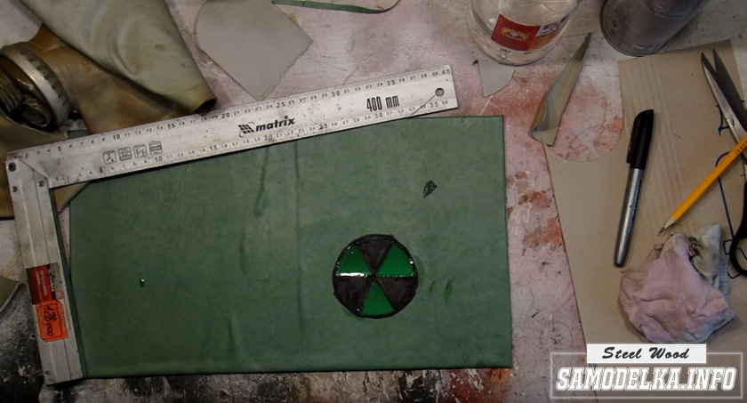 рюкзак со знаком радиации
